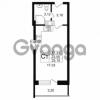 Продается квартира 1-ком 23.55 м² Дальневосточный проспект 40, метро Улица Дыбенко