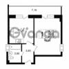 Продается квартира 1-ком 34.05 м² Дальневосточный проспект 40, метро Улица Дыбенко