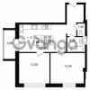 Продается квартира 2-ком 53.85 м² Дальневосточный проспект 40, метро Улица Дыбенко