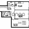 Продается квартира 2-ком 77.78 м² Кирочная улица 57, метро Чернышевская