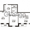 Продается квартира 2-ком 114.81 м² Кирочная улица 57, метро Чернышевская