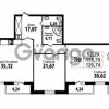 Продается квартира 2-ком 113.79 м² Кирочная улица 57, метро Чернышевская