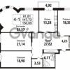 Продается квартира 4-ком 147.73 м² Кирочная улица 57, метро Чернышевская