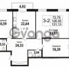 Продается квартира 3-ком 128.35 м² Кирочная улица 57, метро Чернышевская
