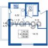 Продается квартира 1-ком 28 м² Охтинская аллея 2, метро Девяткино