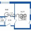Продается квартира 1-ком 30 м² Охтинская аллея 2, метро Девяткино