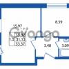 Продается квартира 1-ком 31 м² Охтинская аллея 2, метро Девяткино