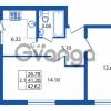 Продается квартира 2-ком 41 м² Охтинская аллея 2, метро Девяткино