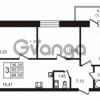 Продается квартира 3-ком 66.39 м² бульвар Менделеева 7, метро Девяткино
