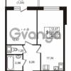 Продается квартира 1-ком 40.51 м² бульвар Менделеева 11, метро Девяткино