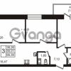 Продается квартира 3-ком 66 м² бульвар Менделеева 8, метро Девяткино