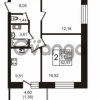 Продается квартира 2-ком 52 м² бульвар Менделеева 8, метро Девяткино