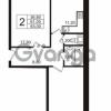 Продается квартира 2-ком 63 м² бульвар Менделеева 15, метро Девяткино