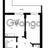 Продается квартира 1-ком 49 м² Гражданская улица 9, метро Девяткино