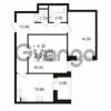 Продается квартира 2-ком 58.3 м² улица Адмирала Черокова 18к 2, метро Проспект Ветеранов