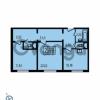 Продается квартира 2-ком 63.93 м² Ленинский проспект 69, метро Проспект Ветеранов
