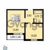 Продается квартира 1-ком 35.4 м² Ленинский проспект 69, метро Проспект Ветеранов