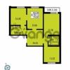 Продается квартира 3-ком 79.69 м² Ленинский проспект 69, метро Проспект Ветеранов