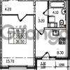 Продается квартира 1-ком 36 м² Муринская дорога 7, метро Гражданский проспект