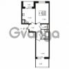Продается квартира 2-ком 54.84 м² улица Катерников 1, метро Проспект Ветеранов
