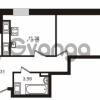 Продается квартира 2-ком 58.92 м² улица Катерников 1, метро Проспект Ветеранов