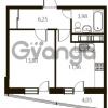 Продается квартира 1-ком 38.02 м² улица Катерников 1, метро Проспект Ветеранов