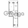 Продается квартира 2-ком 95.88 м² улица Катерников 1, метро Проспект Ветеранов