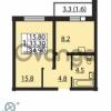 Продается квартира 1-ком 34 м² проспект Маршака 1, метро Гражданский проспект