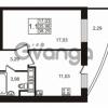 Продается квартира 1-ком 35 м² улица Катерников 1, метро Проспект Ветеранов