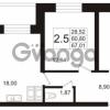 Продается квартира 2-ком 66.84 м² Пулковское шоссе 36к 4, метро Звездная