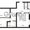 Продается квартира 3-ком 87.69 м² Пулковское шоссе 36к 4, метро Звездная