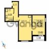 Продается квартира 1-ком 42 м² Парашютная улица 54, метро Комендантский проспект