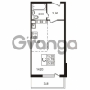Продается квартира 1-ком 24.78 м² Гатчинское шоссе 7А, метро Проспект Ветеранов
