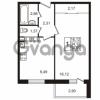 Продается квартира 1-ком 34.12 м² Гатчинское шоссе 7А, метро Проспект Ветеранов