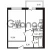 Продается квартира 1-ком 33.66 м² Гатчинское шоссе 7А, метро Проспект Ветеранов