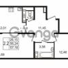 Продается квартира 2-ком 56.24 м² улица Пионерстроя 27, метро Проспект Ветеранов