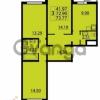 Продается квартира 3-ком 73 м² Парашютная улица 54, метро Комендантский проспект