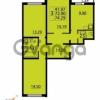 Продается квартира 3-ком 74 м² Парашютная улица 54, метро Комендантский проспект