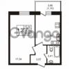Продается квартира 1-ком 35.98 м² Советский проспект 42, метро Рыбацкое