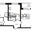 Продается квартира 2-ком 50.84 м² Советский проспект 42, метро Рыбацкое