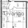 Продается квартира 1-ком 34.87 м² Воронцовский бульвар 1, метро Девяткино