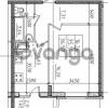 Продается квартира 1-ком 36.59 м² Воронцовский бульвар 1, метро Девяткино