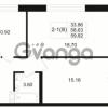 Продается квартира 2-ком 58.63 м² Малый пр. В.О. 64, метро Василеостровская