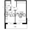 Продается квартира 1-ком 34 м² улица Шувалова 1, метро Девяткино