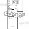 Продается квартира 1-ком 41 м² улица Шувалова 1, метро Девяткино