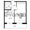 Продается квартира 1-ком 36 м² улица Шувалова 1, метро Девяткино