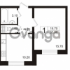 Продается квартира 1-ком 35 м² Школьная 6, метро Проспект Просвещения