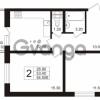 Продается квартира 2-ком 54.5 м² Школьная 6, метро Проспект Просвещения