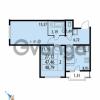 Продается квартира 2-ком 48.79 м² Парашютная улица 52, метро Комендантский проспект