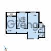 Продается квартира 2-ком 64.93 м² Парашютная улица 52, метро Комендантский проспект